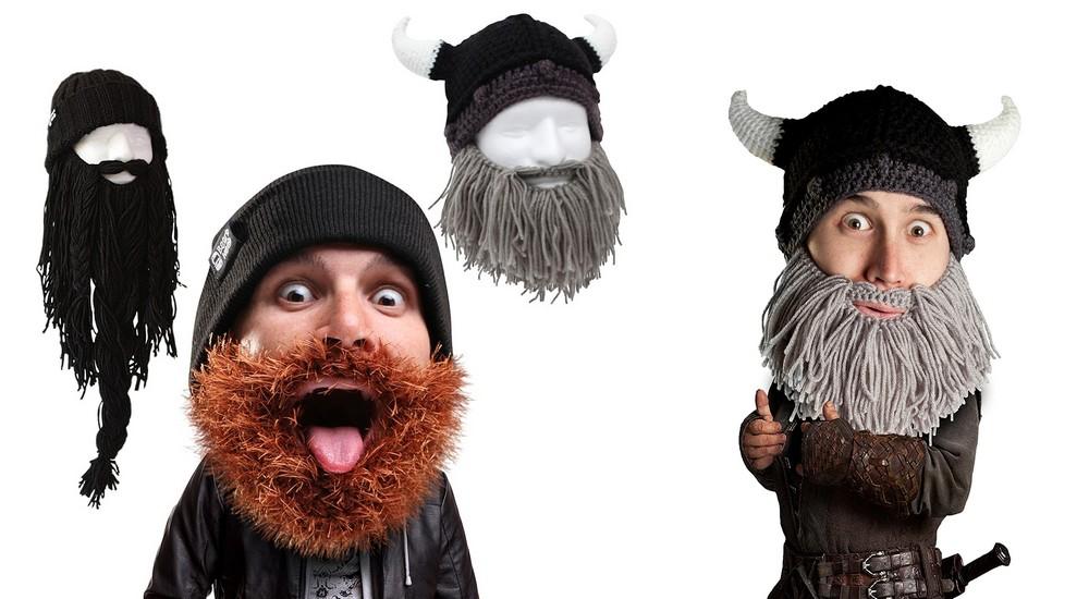 bonnet a barbe rigolo