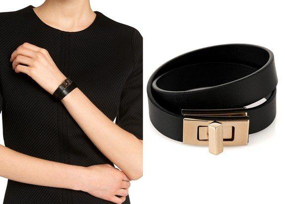 bracelet en cuir hugo boss bespoke