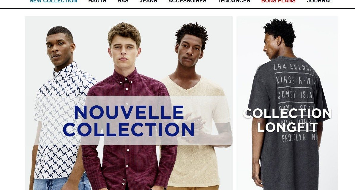 Acheter des vêtements homme chez Celio