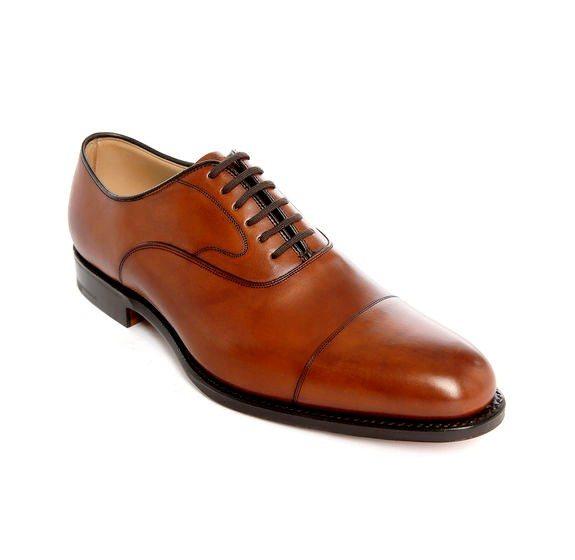 chaussures churchs richelieu marron