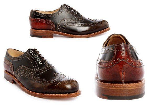chaussures richelieu grenson menlook collaboration anniversaire 5 ans