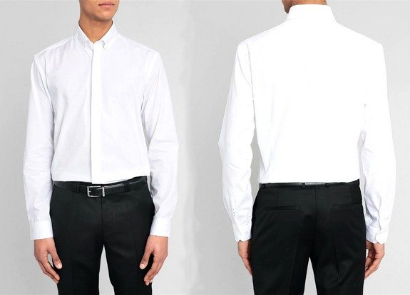 chemise blanche homme selected