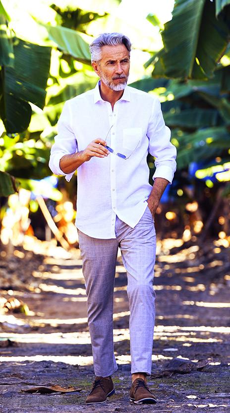 chemise blanche ollygan