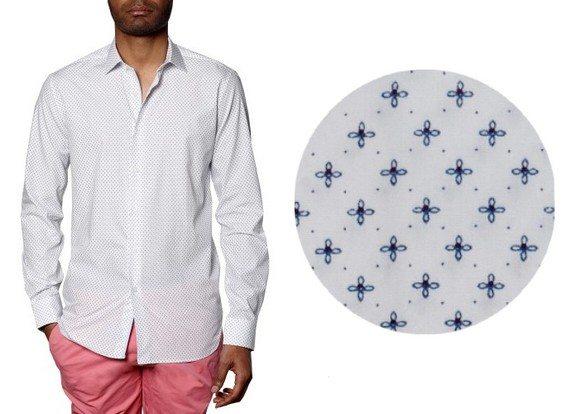 Les chemises à motifs fantaisies