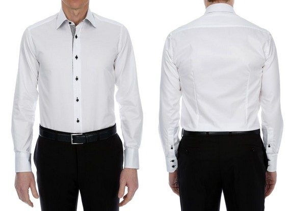 chemise homme blanche brucefield