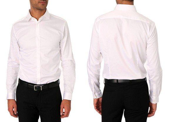 Les chemises blanches
