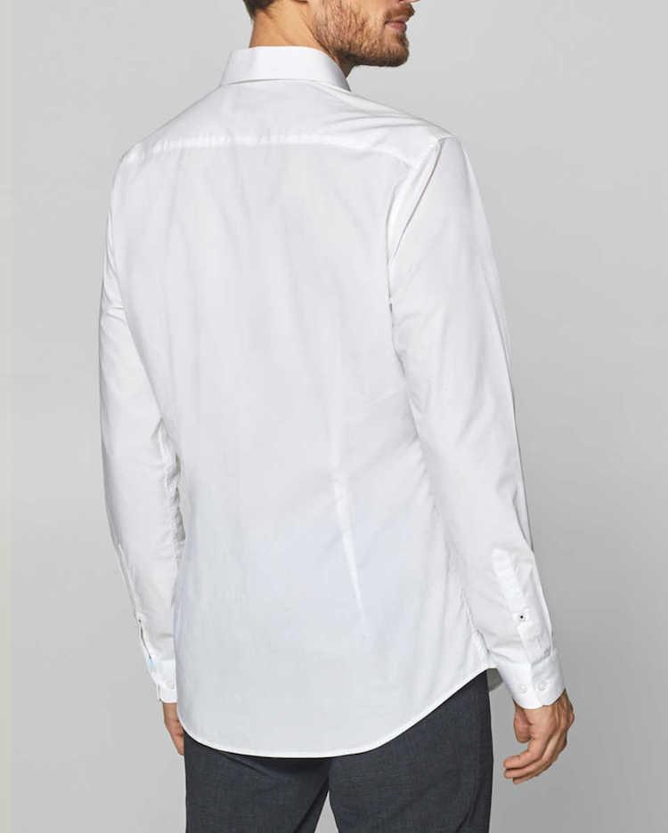 chemise homme blanche cintree esprit