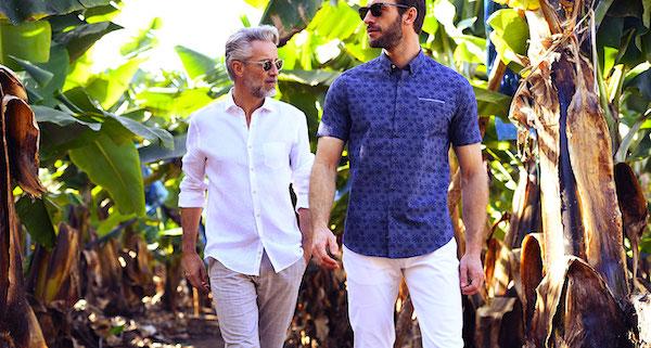 Chemise homme stylée : 4 pièces mode du printemps été 2020