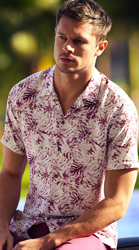 chemise rose ollygan