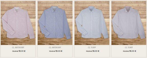 chemises chevignon