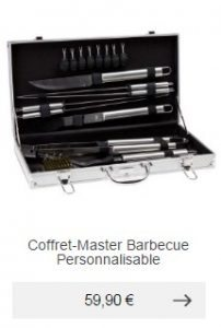 coffret barbecue ustensiles grillade idee cadeau homme