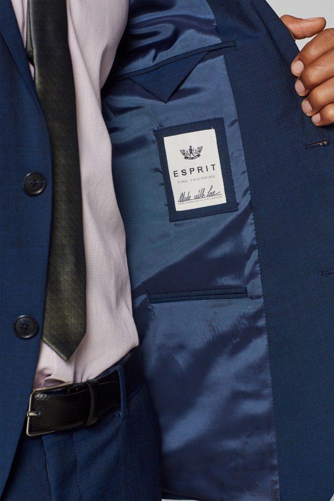 costume homme esprit bleu