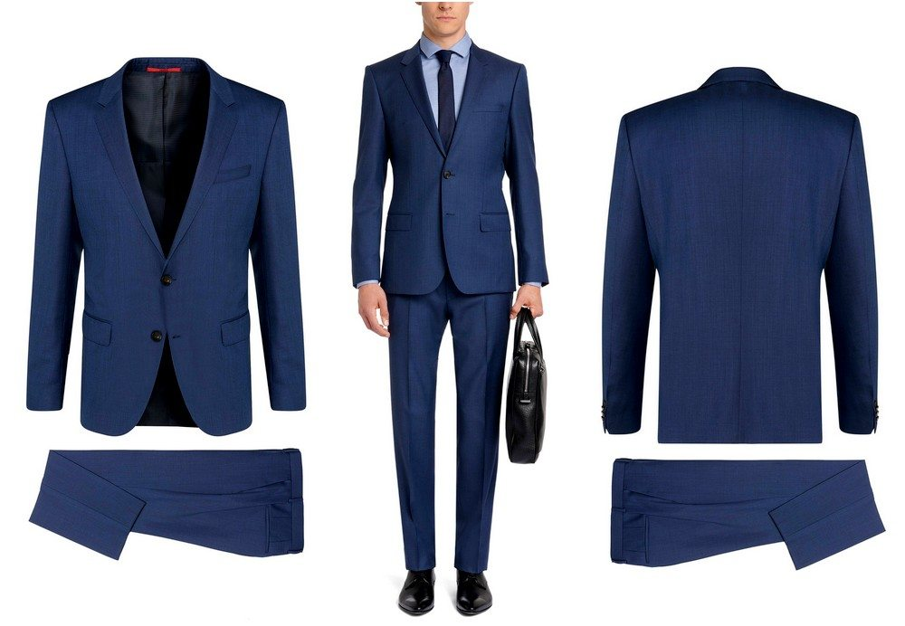 costume-hugo-boss-bleu