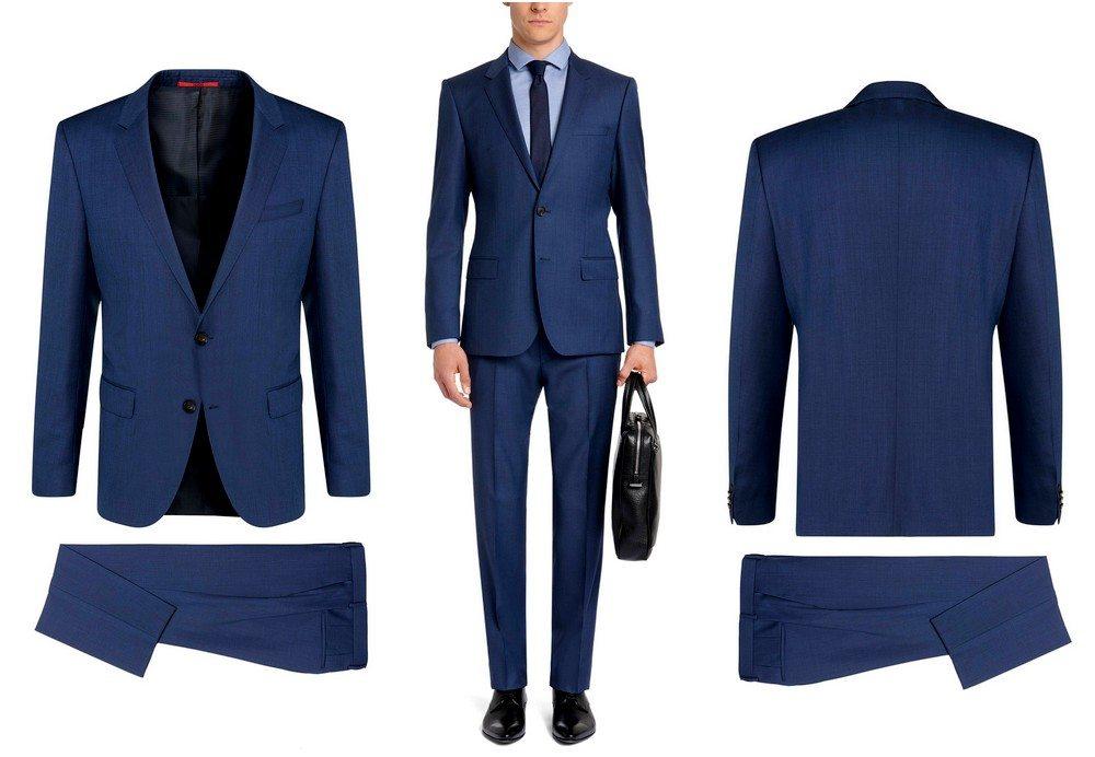 costume-hugo-boss-bleu