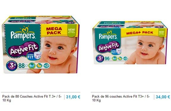couches pampers 5 a 10 kg
