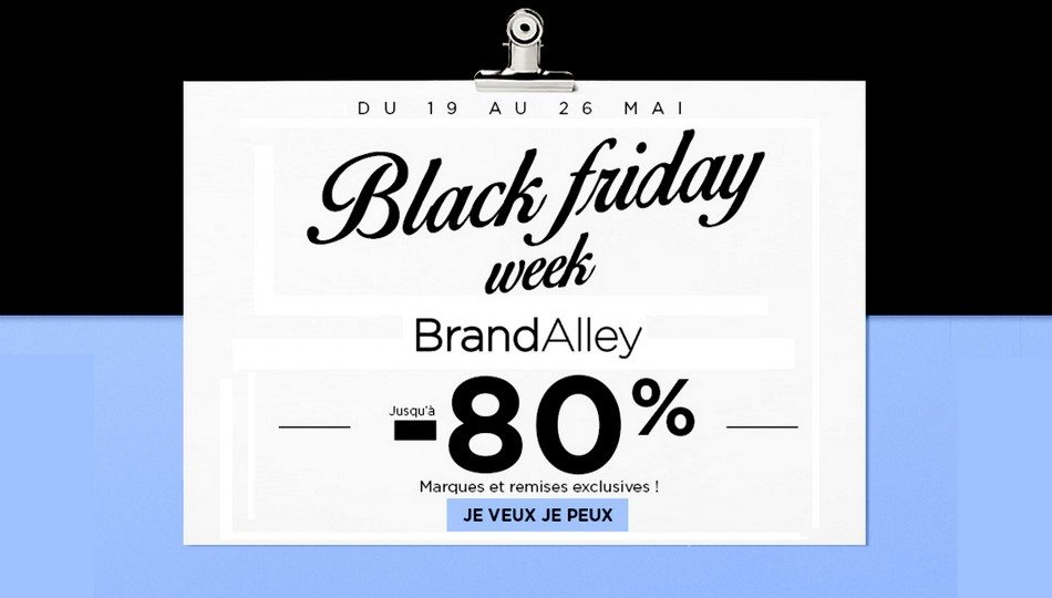 Black Friday Week chez BrandAlley !