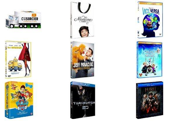 30 Idées cadeaux DVD & Blu-Ray pour Noël