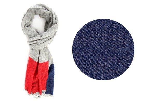 echarpe bleu blanc rouge commune de paris menlook collaboration anniversaire 5 ans.