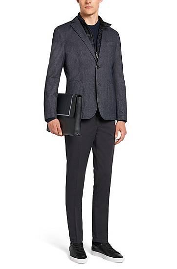 356c210ef866f Pull Regular Fit Tailored en cachemire   « T-Borello » BOSS   Monsieur Mode  - Blog Homme