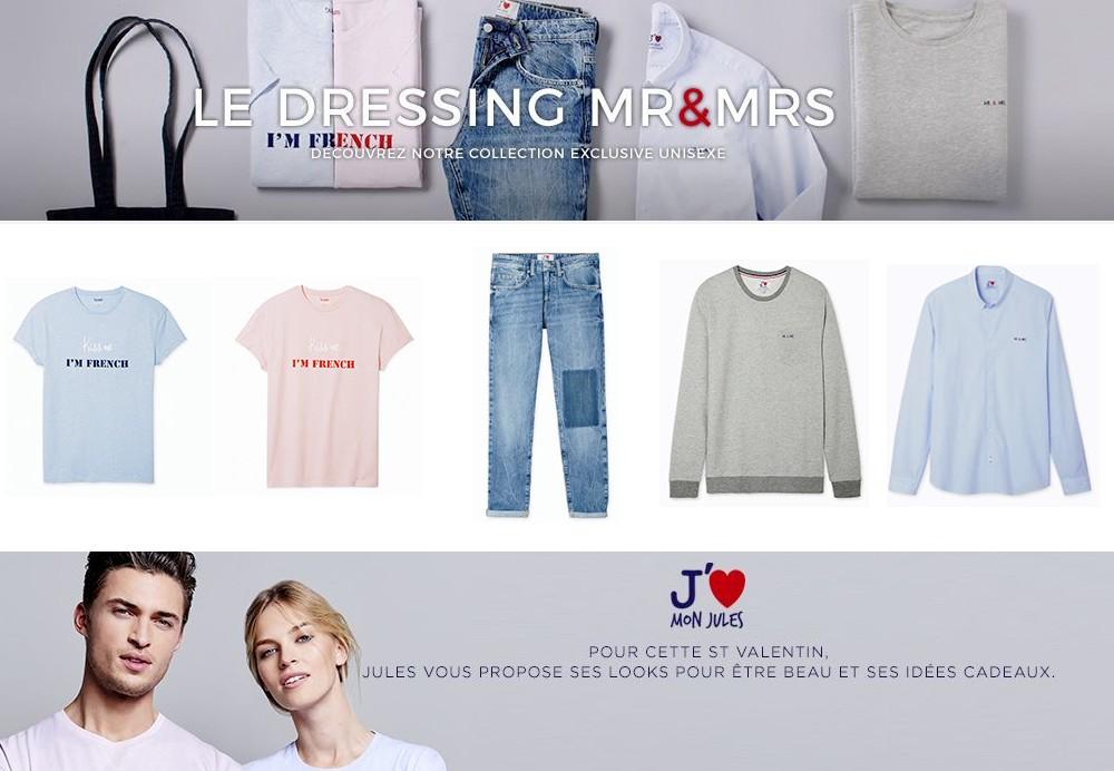 Idées Cadeaux Jules pour la Saint Valentin