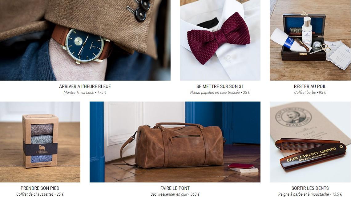 idees cadeaux mode homme