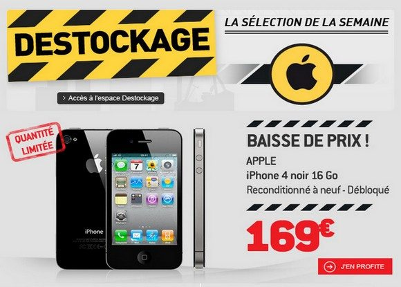 Déstockage Iphone chez RDC !
