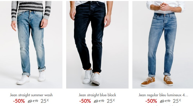 jeans jules mode homme