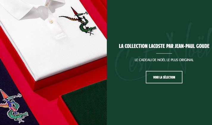 La Collection Lacoste par Jean-Paul Goude
