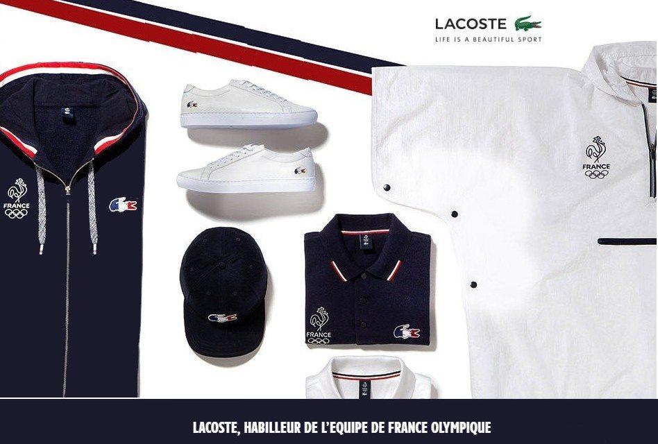Lacoste habille l'équipe de France pour les JO de Rio 2016
