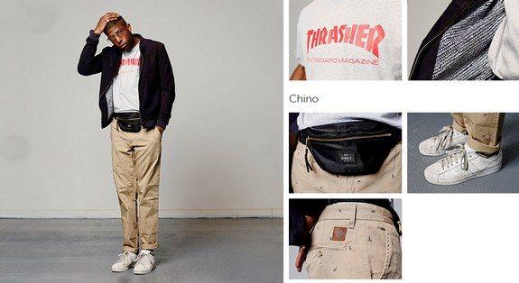 look homme noir streetwear