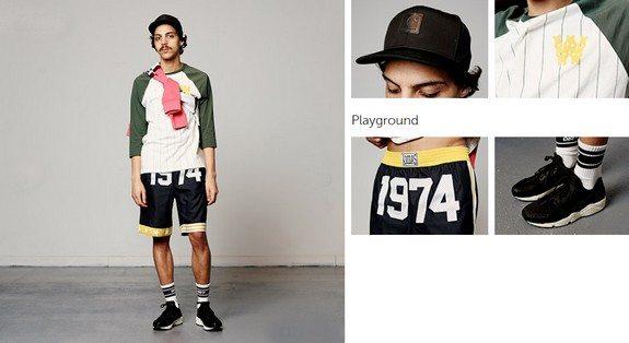 look homme short streetwear