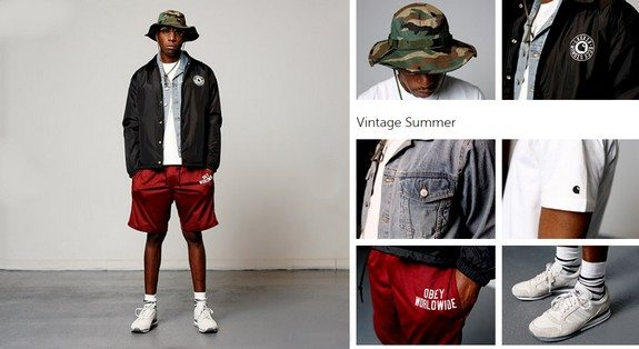 look mec black short streetwear