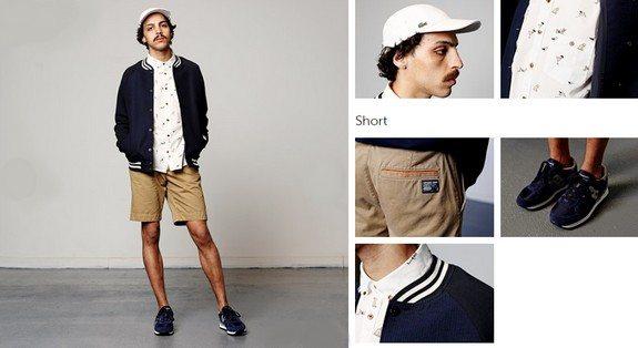 look mec short streetwear