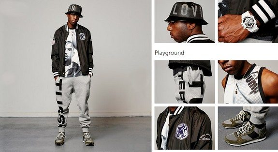 look pour homme black streetwear