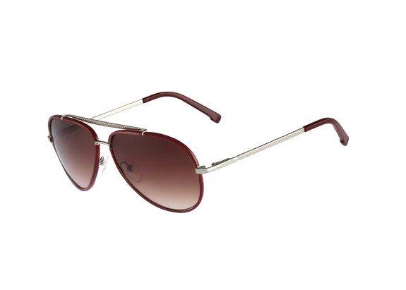 lunettes de soleil lacoste rouge bordeaux