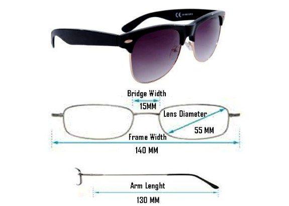 lunettes de soleil unisexe monture noire verres fumes