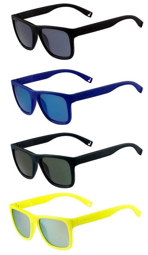 lunettes flottantes lacoste differentes couleurs