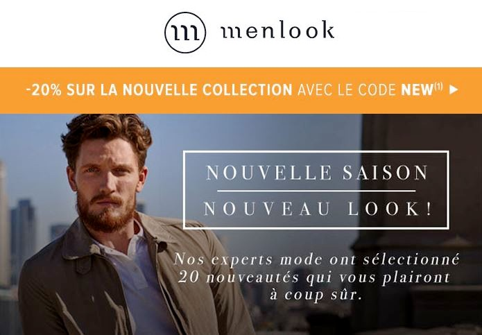 menlook nouvelle collection 2017