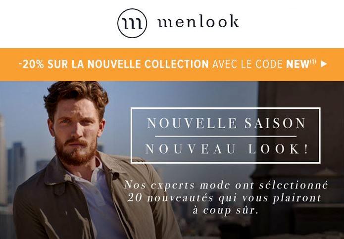 menlook nouvelle collection 2017