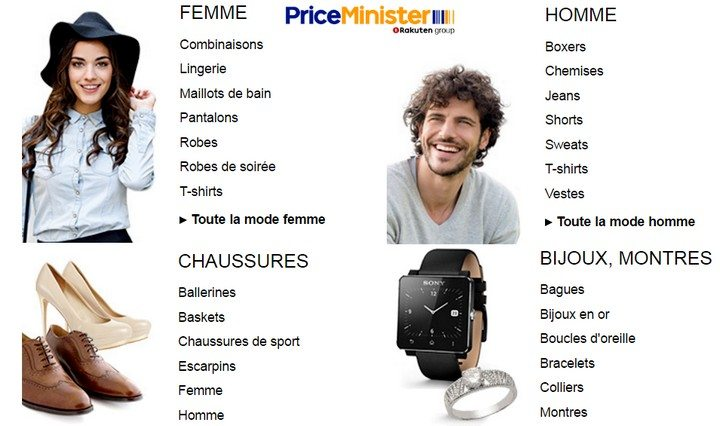 mode priceminister