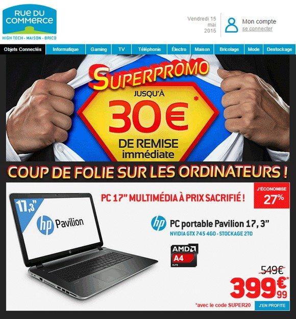 Super Promo sur les PC portables !