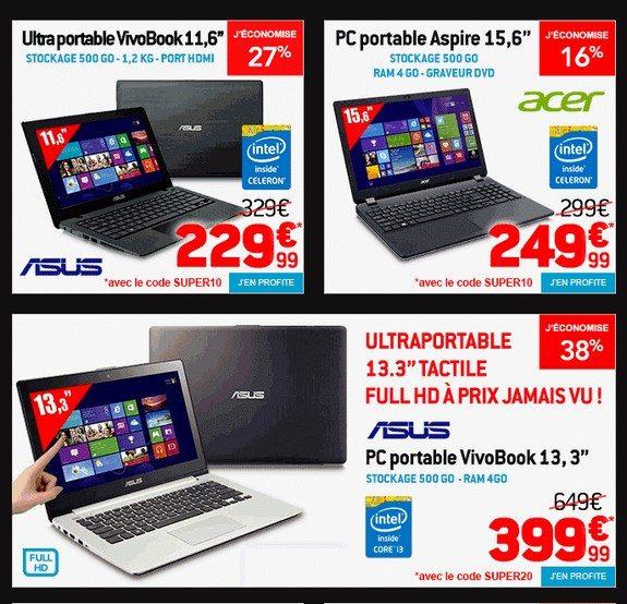 ordinateur portable pas cher