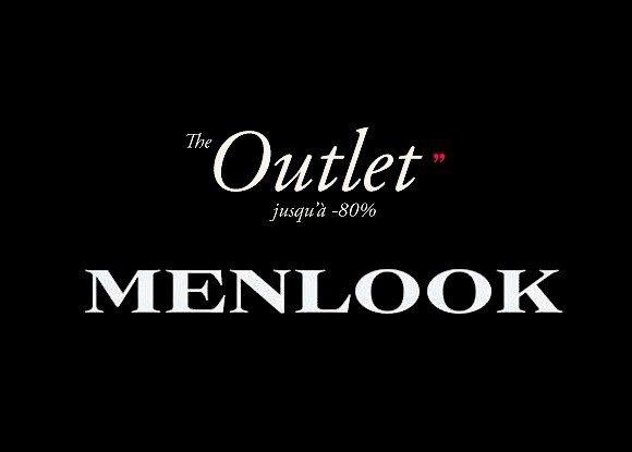 L'Outlet Menlook : Gros Déstockage jusqu'à -80% !!