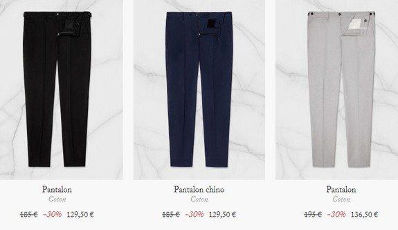 pantalons de fursac