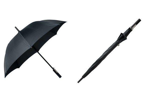 parapluie hugo boss grid golf noir
