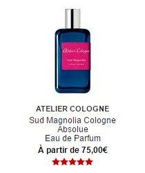 parfum atelier cologne sud magnolia cologne absolue eau de parfum sephora