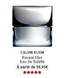 parfum calvin klein reveal men eau de toilette sephora