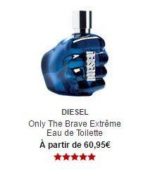 parfum diesel only the brave eau de toilette sephora