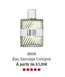 parfum dior eau sauvage cologne sephora