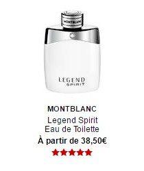 parfum montblanc legend spirit eau de toilette sephora